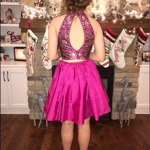 2 piece Sherri hill homecoming dress
